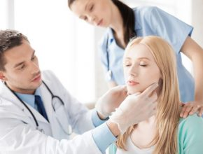 Picture of a plastic surgery consultation