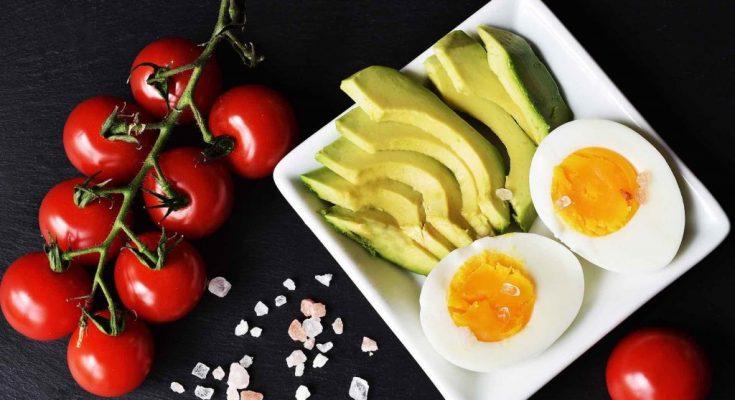 Common keto food items